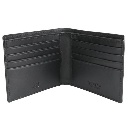 Black Loake Midland Wallet Open