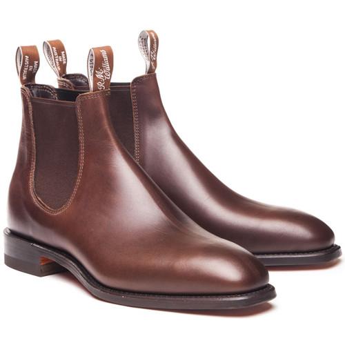 Rum R.M. Williams Mens Comfort Craftsman Boots