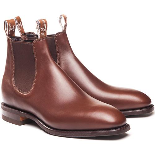 Dark Tan R.M. Williams Mens Comfort Craftsman Boots