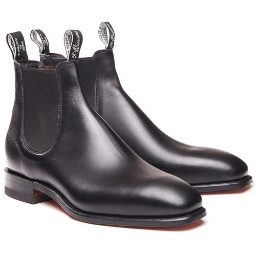 Black R.M. Williams Mens Comfort Craftsman Boots