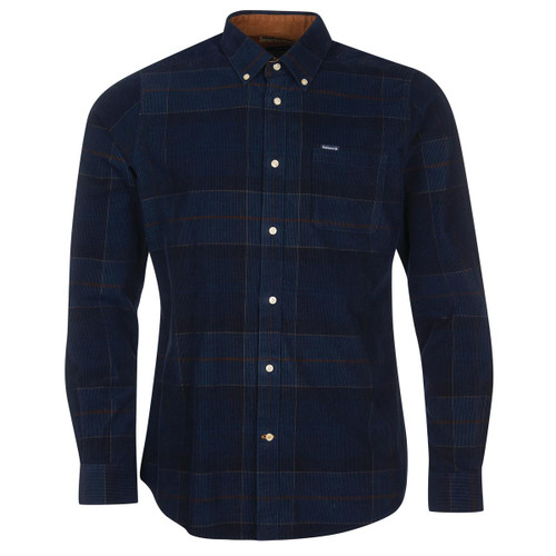 Midnight Tartan Barbour Mens Blair Tailored Shirt