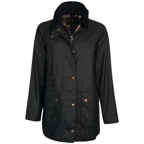 Sage/Ancient Barbour Womens Tain Wax Jacket