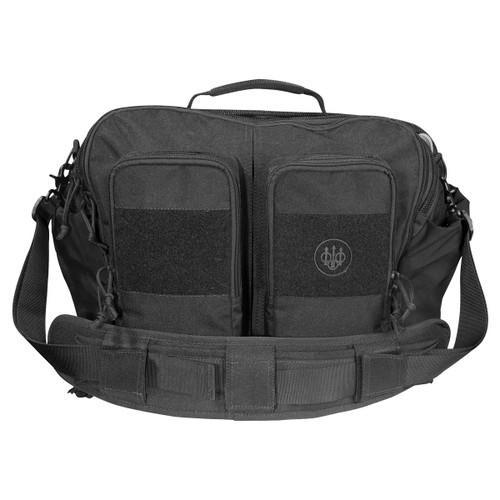 Black Beretta Tactical Messenger Bag