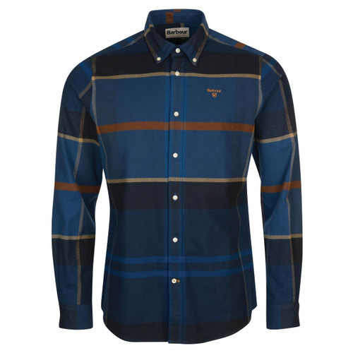 Midnight Barbour Mens Iceloch Tailored Shirt