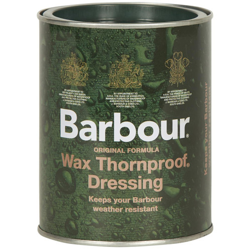 Barbour Large Wax Thornproof Dressing Tin