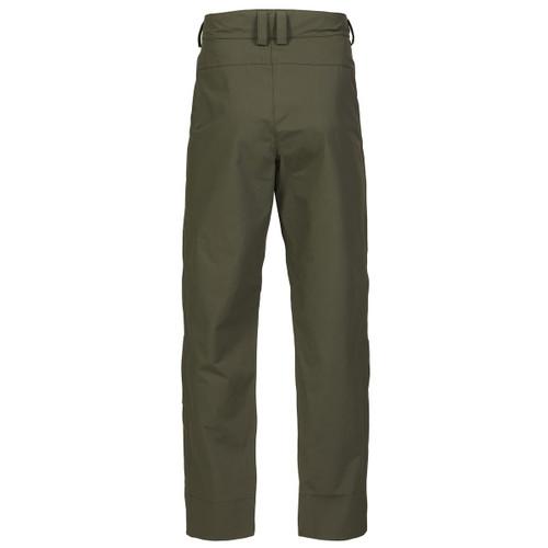 Deep Green Musto Mens Fenland Packaway 2.0 Trousers Back