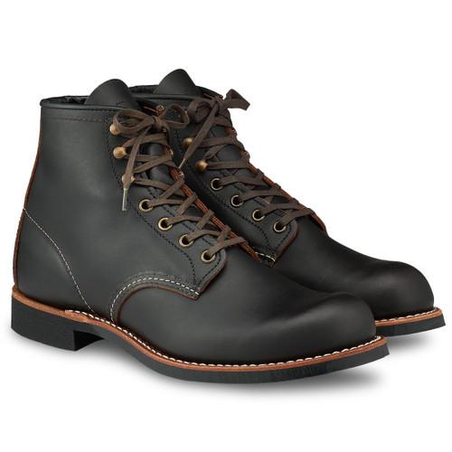 Black Prairie Red WIng Mens Blacksmith Boots