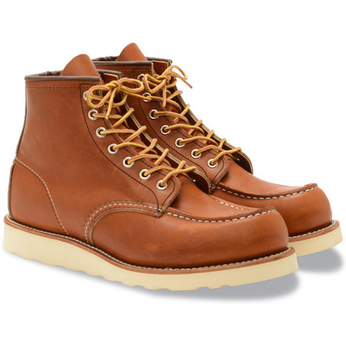 Oro Legacy Red Wing Mens 6 Inch Classic Moc Boots