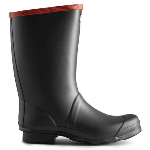 Black Hunter Unisex Argyll Short Wellington Boots