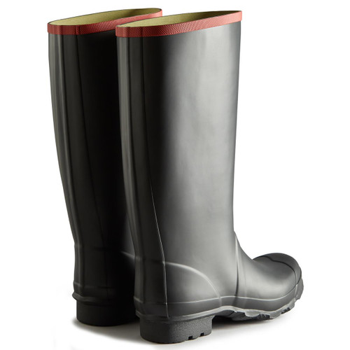 Hunter Unisex Argyll Full Knee Wellington Boots Rear