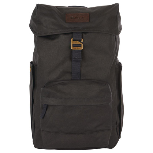 Olive Barbour Essential Wax Backpack