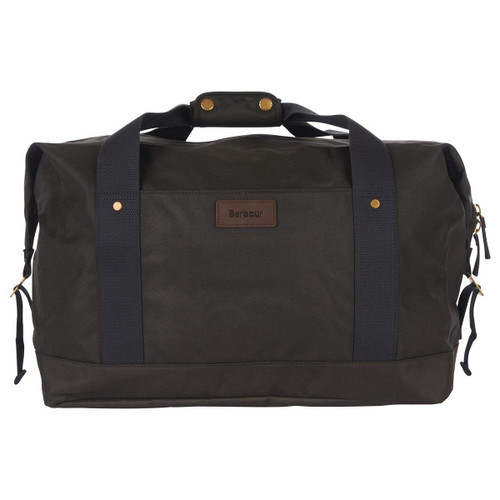 Olive Barbour Essential Wax Holdall