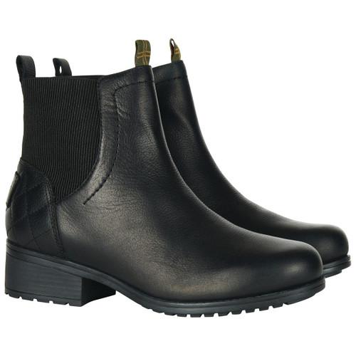 Black Barbour Womens Eden Boots