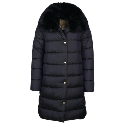 Navy Barbour Womens Portabello Quilted Jacket