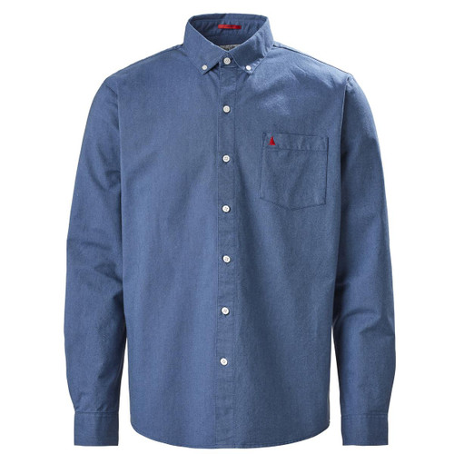 Pale Blue Musto Mens Aiden Long Sleeve Oxford Shirt