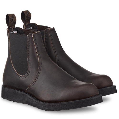 Ebony Harness Red Wing Mens Classic Chelsea Boots
