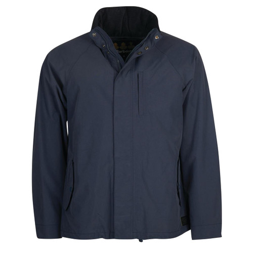 Navy Barbour Mens Climate Jacket