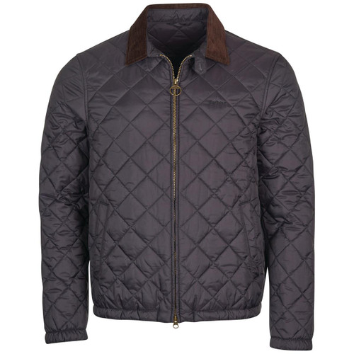 Navy Barbour Mens Vital Quilted Jacket