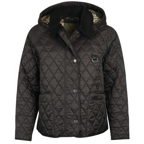 Black Barbour Womens Tobymory Quilted Jacket