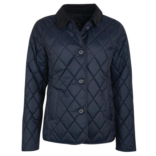 Dark Navy Barbour Womens Ombersley Quilted Jacket