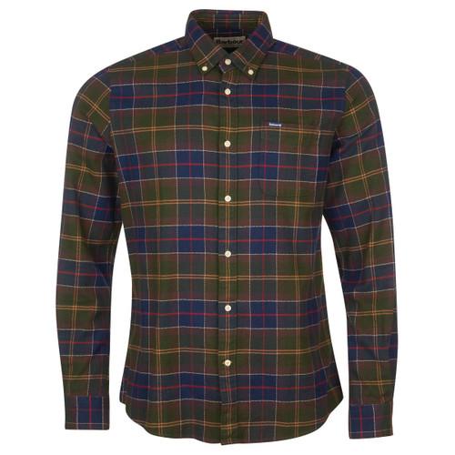 Classic Tartan Barbour Mens Kyeloch Tailored Shirt