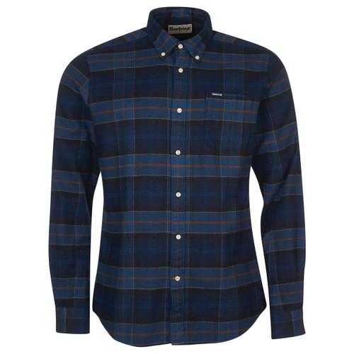 Midnight Tartan Barbour Mens Kyeloch Tailored Shirt