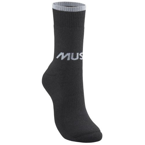 Black Musto Mens Thermal Short Socks