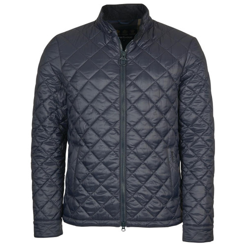 Navy Barbour Mens Harrington Quilted Jacket
