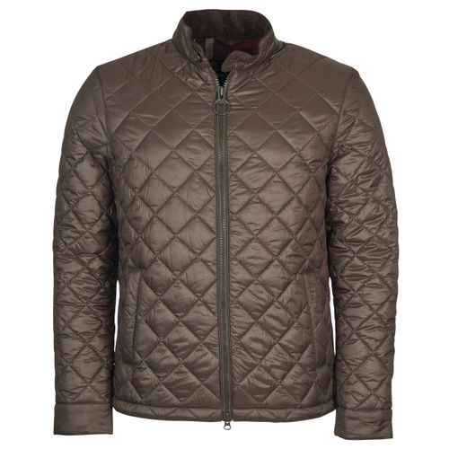 Rustic Barbour Mens Harrington Quilted Jacket