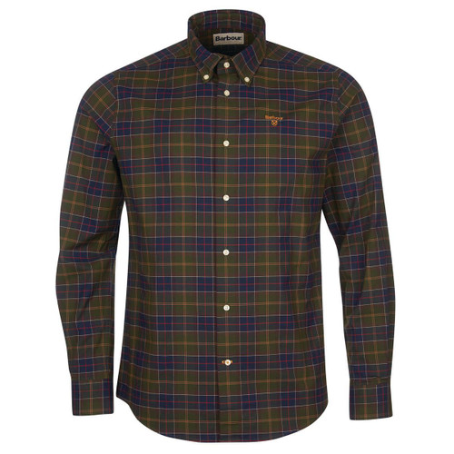 Classic Tartan Barbour Mens Helmside Tailored Shirt