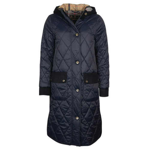 Dark Navy/Dress Barbour Womens Mickley Quilted Jacket