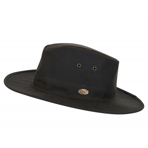 Antique Olive Hoggs Of Fife Caledonia Waxed Hat