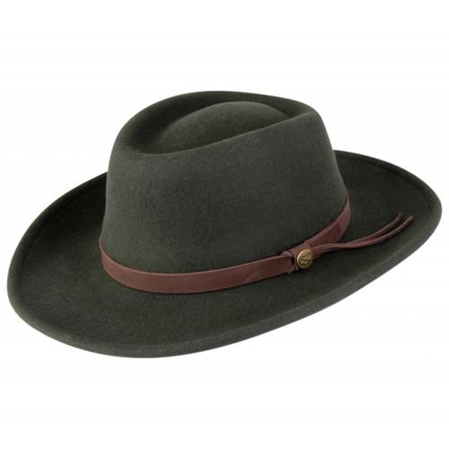 Olive Hoggs Of Fife Perth Crushable Felt Hat