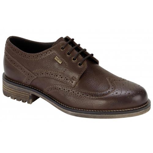 Antique Brown Hoggs Of Fife Connel Waterproof Brogue Shoe