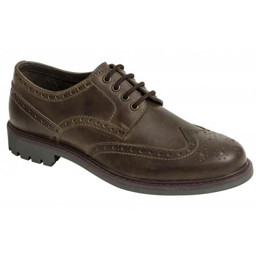 Walnut Hoggs Of Fife Inverurie Country Brogue Shoes