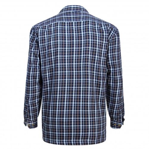 Bark Hoggs Of Fife Fleece Lined Shirt Back