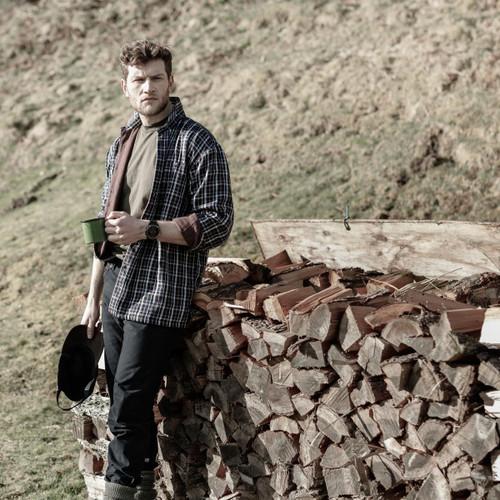Bark Hoggs Of Fife Fleece Lined Shirt Lifestyle