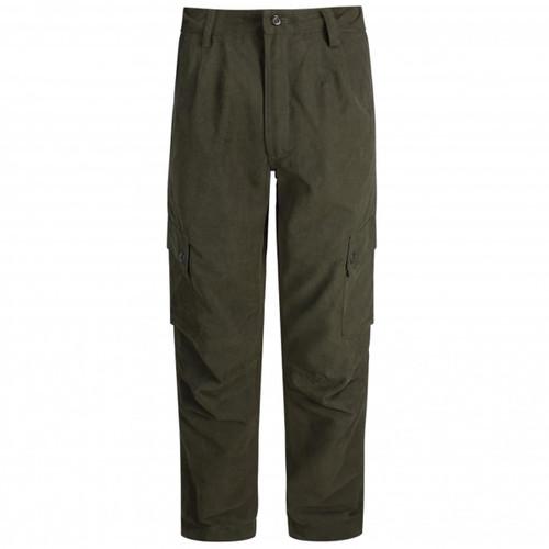 Dark Green Hoggs Of Fife Struther Field Trousers