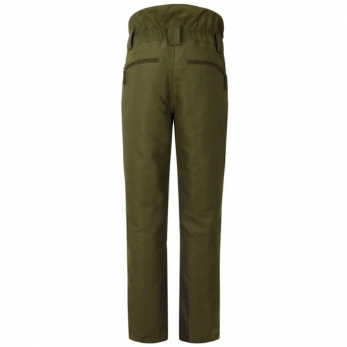 Olive Green Hoggs Of Fife Mens Kincraig Field Trousers Back
