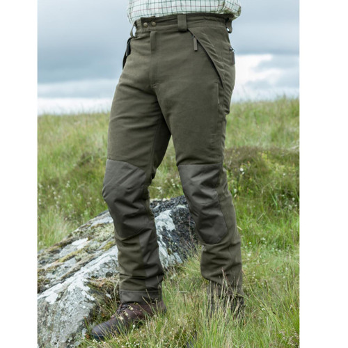 Olive Green Hoggs Of Fife Mens Kincraig Field Trousers Lifestyle