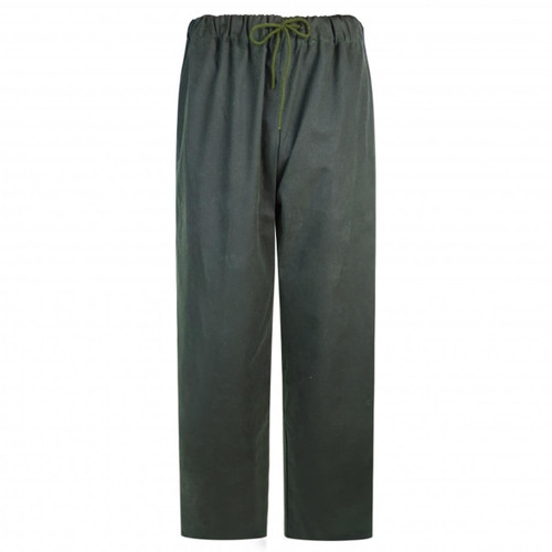 Olive Hoggs Of Fife Mens Waxed Overtrousers