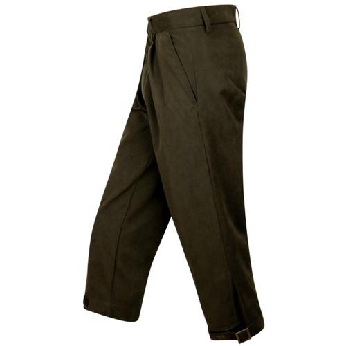 Dark Green Hoggs Of Fife Mens Struther Waterproof Breeks