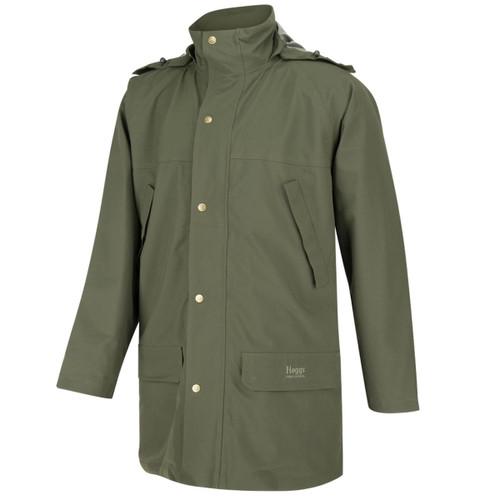 Green Hoggs Of Fife Mens Green King II Waterproof Jacket