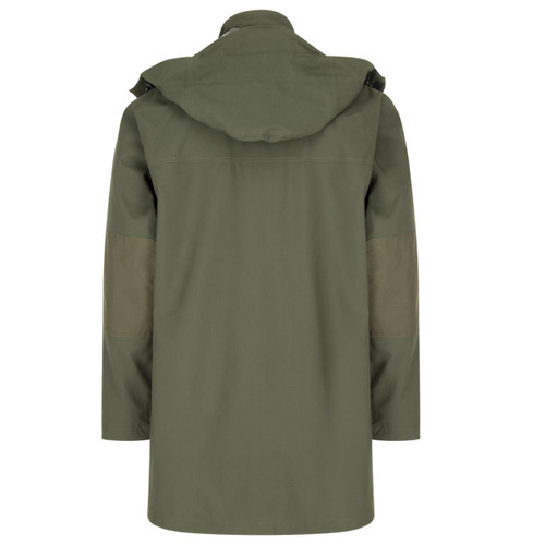Green Hoggs Of Fife Mens Green King II Waterproof Jacket Back