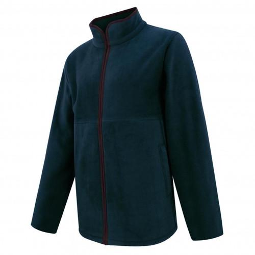 Midnight Navy Hoggs Of Fife Mens Stenton Technical Fleece Jacket