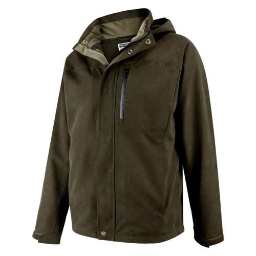 Dark Green Hoggs Of Fife Mens Struther Zip Through Jacket