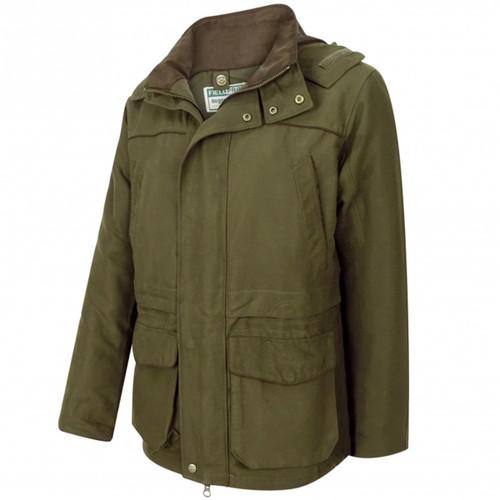 Olive Green Hoggs Of Fife Mens Kincraig Field Jacket