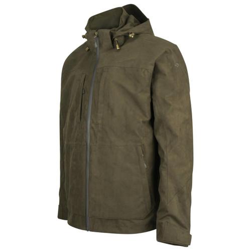 Brown Hoggs Of Fife Mens Rannoch Lightweight Waterproof Shooting Jacket