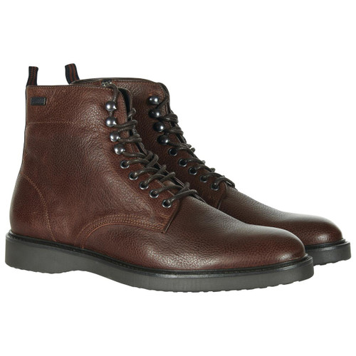 Brown Barbour International Mens Carb Boots