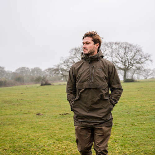 Rifle Green Musto Mens Keepers Smock Lifestyle